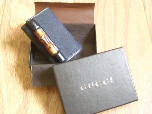 NIB Gucci Bamboo Keychain / Wallet