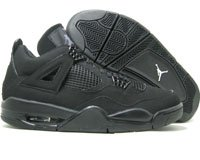 Jordan Retro 4 Black Graphite
