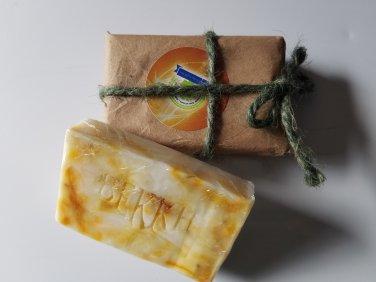 Caribbean Citrus Facial Beauty Bar with Kaolin Clay & ylang, ylang 3 oz