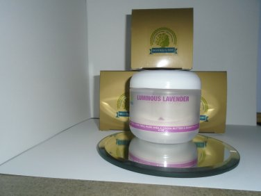 Luminous Lavender Organic Shea Aloe Body Butter 4 oz / 120 ml
