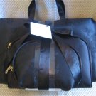 Large Black 3 Pcs Cosmetic Bag Travel Set New