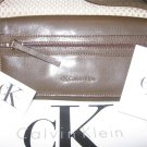 Calvin Klein Logan Green Leather Handbag Purse New
