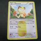 Pokemon Card Meowth Noble Victories Secret Rare