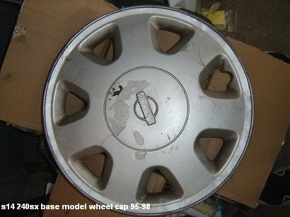 s14 240sx oem 1 base model hub cap