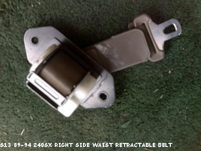 S13 89-94 240SX RETRACTABLE WAIST BELT