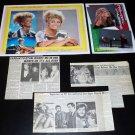Farrah Fawcett clippings #3 70s 80s tabloid Japan FINAL