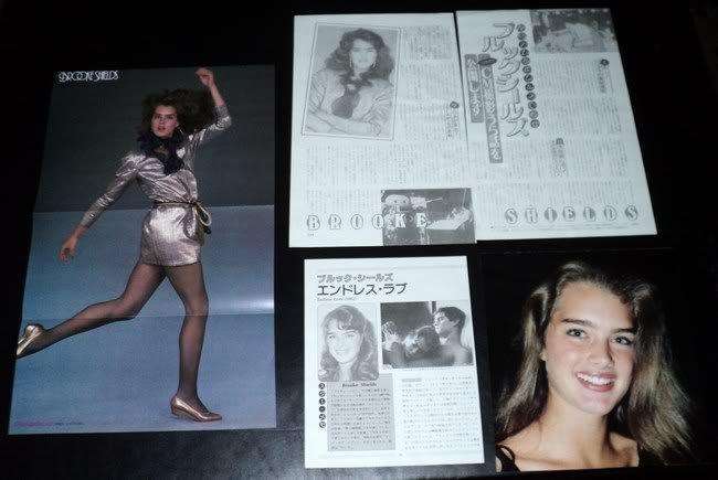 Brooke Shields #4 clippings Japan + Harrison Ford FINAL