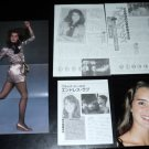 Brooke Shields #4 clippings Japan + Harrison Ford FINAL