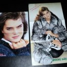 Brooke Shields clipping #5 Japanese centerfolds FINAL