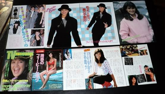 Phoebe Cates clippings pack #7 Japan 80s FINAL SALE