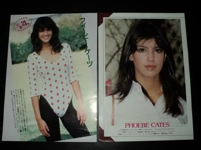 Phoebe Cates clippings Japan Nastassja Kinski FINAL!