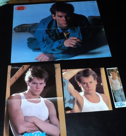 Kevin Bacon clippings #1 80s Japan FINAL SALE!
