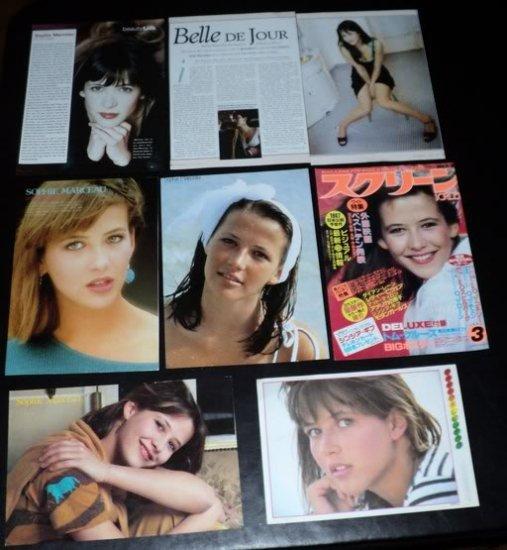 Sophie Marceau clippings #6 Japan 80s USA 90s FINAL!