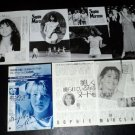 Sophie Marceau clippings pack #5 Japan 80s FINAL SALE