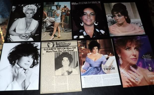 Elizabeth Taylor clippings pack #2 FINAL SALE