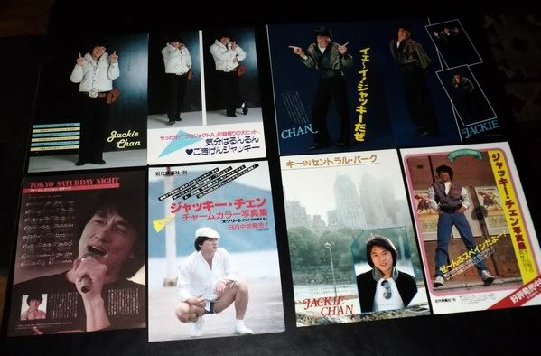 Jackie Chan clippings pack #4 Japan 80s FINAL SALE