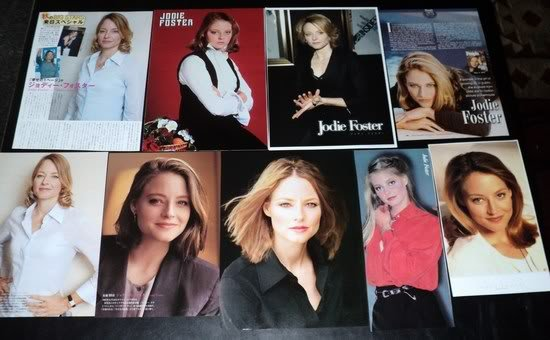 Jodie Foster clippings pack #2 FINAL SALE