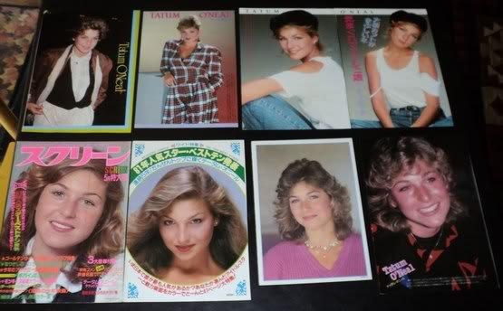 Tatum O'Neal clippings #4 80s Japan FINAL SALE