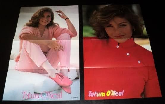 Tatum O'Neal clippings #1 80s Japan centerfolds FINAL