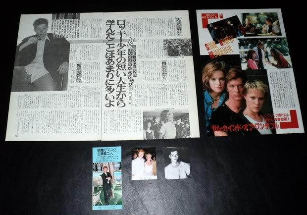 Eric Stoltz clippings pack Japan FINAL SALE