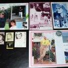 Mariel Hemingway Margaux Hemingway clippings pack Japan