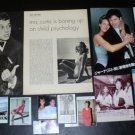 Jamie Lee Curtis and Janet Leigh clippings pack