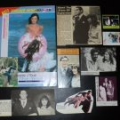 Margot Kidder clippings 70s Christopher Reeve 80s Japan