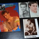 Michael Biehn clippings pack Japan 80s