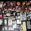 Victoria Principal clippings pack Dallas 70s 80s