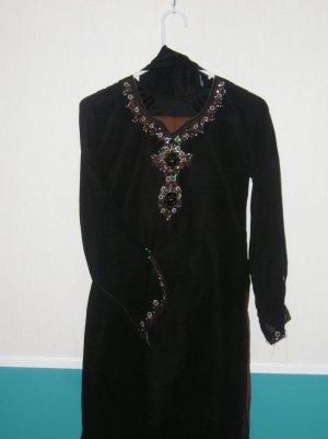 Shalwar Kameez - Black Georgette