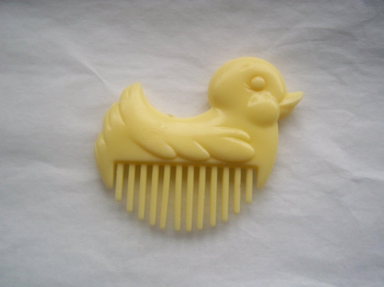 Yellow Duck Comb