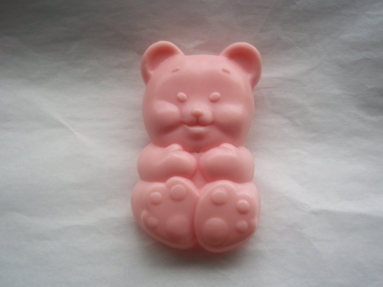 Peachy-Pink Bear Brush