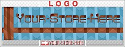 Retro Optical Illusion Abstract eCRATER Store Y-S-H LOGO