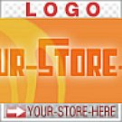Sixties Orange Crush Retro Groovy eCRATER Store Y-S-H LOGO
