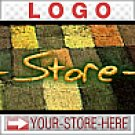 Earthy Shaggy Squares Warm Fuzzy eCRATER Store Y-S-H LOGO
