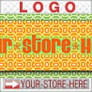 Trippy Psychedelic Funk Design eCRATER Store Y-S-H LOGO