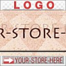 Stylish Checkered Grecian Shadows eCRATER Store Y-S-H LOGO