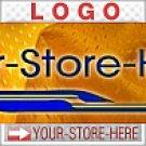 Sporty Yellow & Blue Jock Shop eCRATER Store Y-S-H LOGO