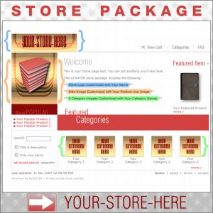 Smart Deco with your ENHANCED PRODUCT IMAGE - Custom Y-S-H eCRATER Store Package
