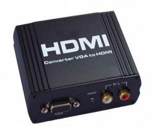 VGA Video Audio to HDMI Converter box