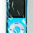 100 - 1.8 inch 4GB Ipod Nano Style MP3-MP4 video Player with Voice recorder and FM Radio -Blue