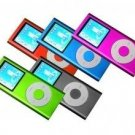 5 - 1.8 inch 2GB Ipod Nano Style MP3-MP4 Video Player w/ Voice recorder and FM Radio - Mixed Set