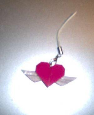 Paper Heart Pendant