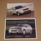 2004 Lincoln Navigator Monotone Limited Edition Brochure Set
