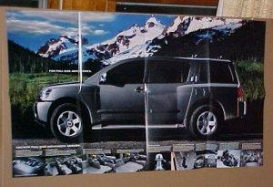 2004 Nissan Armada Full Sized SUV Poster