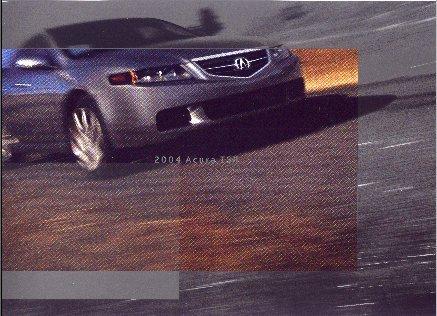 2004 Acura TSX New Factory Brochure