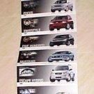 2005 Ford Mustang Cobra Concept Car Post Card Brochure Set