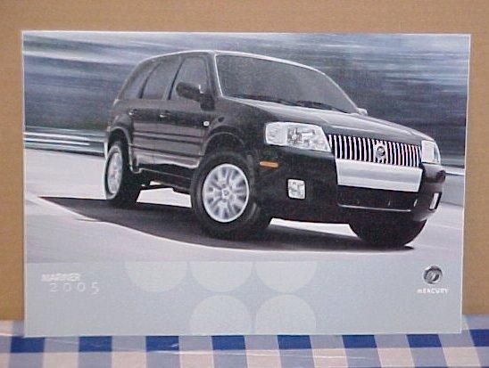 2005 Mercury Mariner Limited Edition Brochure