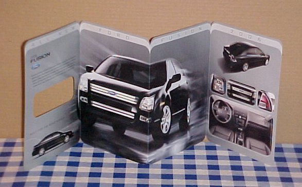 2006 Ford Fusion 1st Edition Sales Brochure