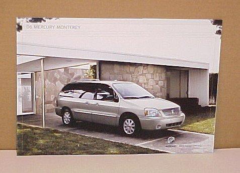 2006 Mercury Monterey Limited Edition Brochure